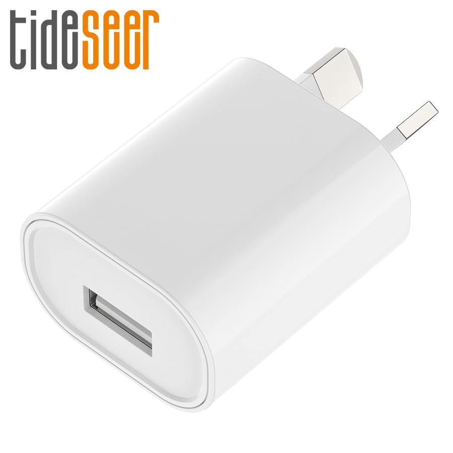 SAA C-Tick certified USB Power Adapter 5V 1A Australia New Zealand AU Plug Wall Charger Single USB for Apple iPhone for Samsung