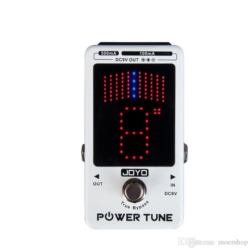 JOYO Power Tune JF18R Power Tune True Bypass Электрогитара Бас 8-портовая мульти-мощная педаль эффектов