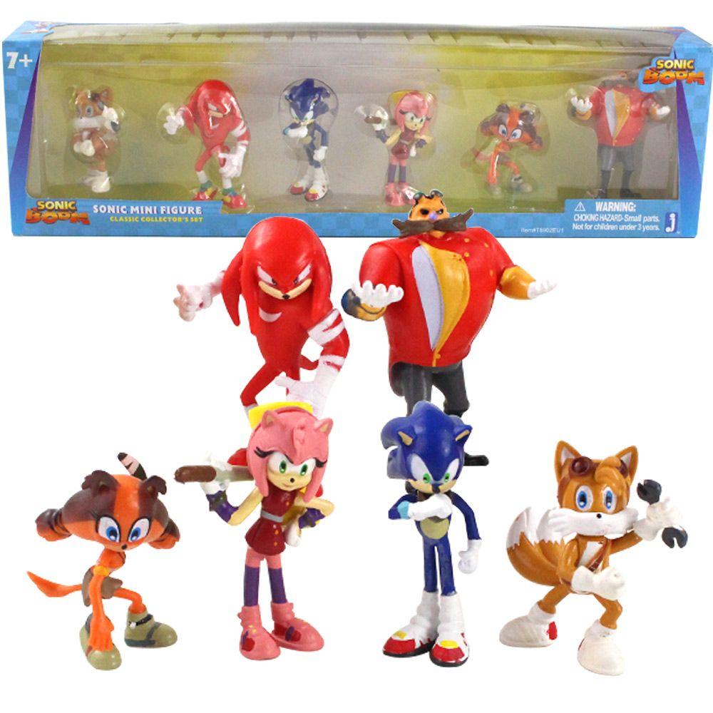 2020 Sonic Boom Rare Dr Eggman Shadow PVC Toys Action