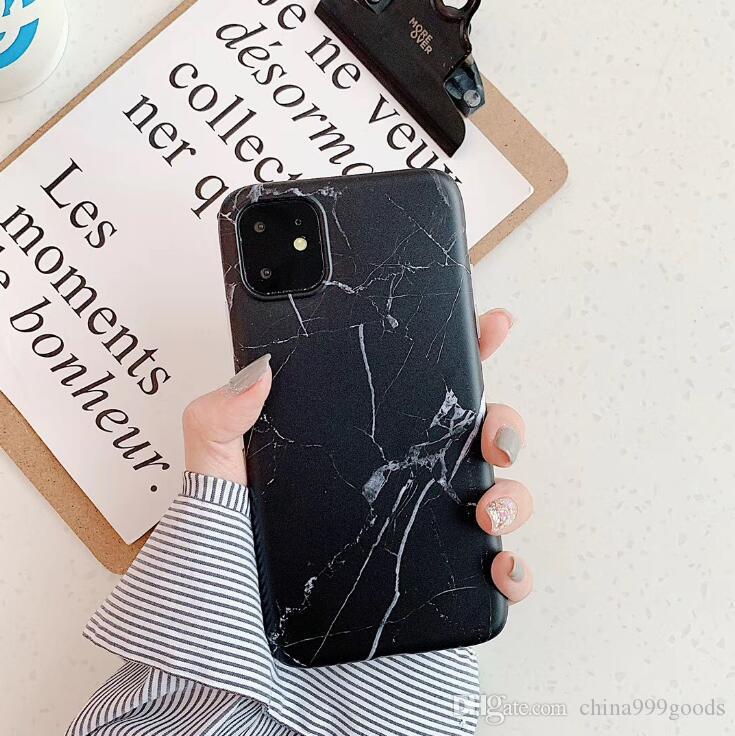 Nuovo iPhone 11 Pro max marmo modello per IPHONEXS MAX cassa del telefono mobile 7P all-inclusive IMD custodia morbida guscio cellulare