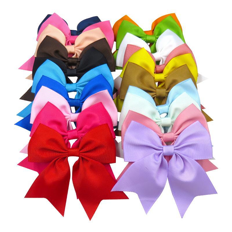Bandas 1PCS Bow Ribbon Swallowtail Clipe Elastic cabelo para meninas Bohemian Grampos Scrunchy coreano Crianças Cabelo Acessórios Para Mulheres