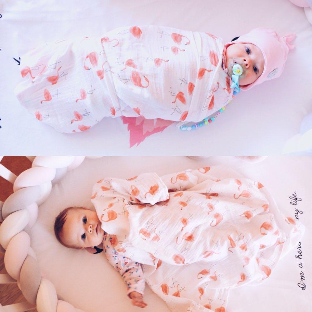 منشفة 1PC الطفل الوليد منشفة حمام اسلامية 100٪ القطن الطفل البشكير Swaddles الرضع أغطية الشاش التفاف غطاء عربة Sleepsack