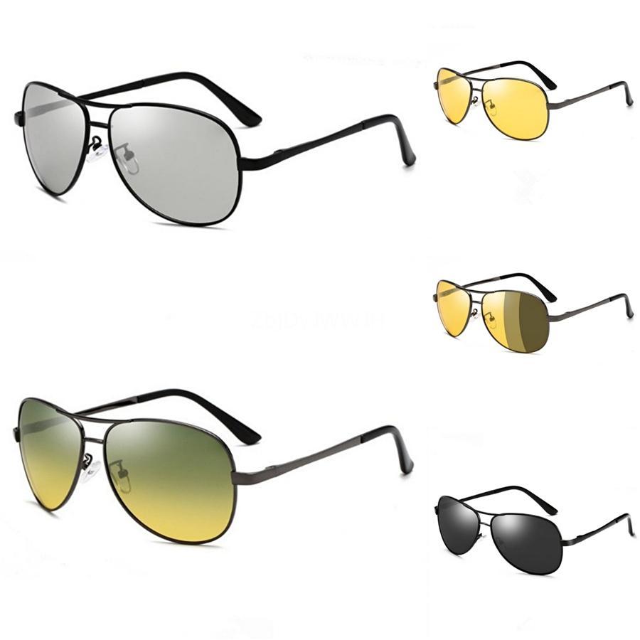 الجملة 2020 عدسات للجنسين هد الأصفر سائق جوجل نظارات نظارات للرؤية الليلية لتعليم قيادة السيارات نظارات شمسية الأشعة فوق البنفسجية حماية # 65880