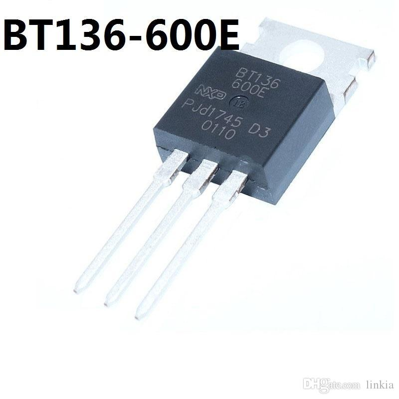 NXP BT136-600E TO-220 في اتجاهين الثايرستور 600V4A