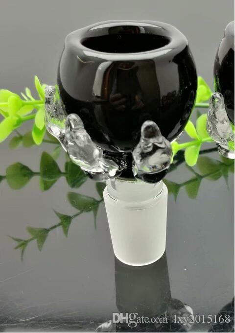 14мм мужской Цвет дракона коготь пеностекла головка Стеклянные бонги масло горелки Трубы из стекла для воды нефтяные вышки Курительные бесплатно
