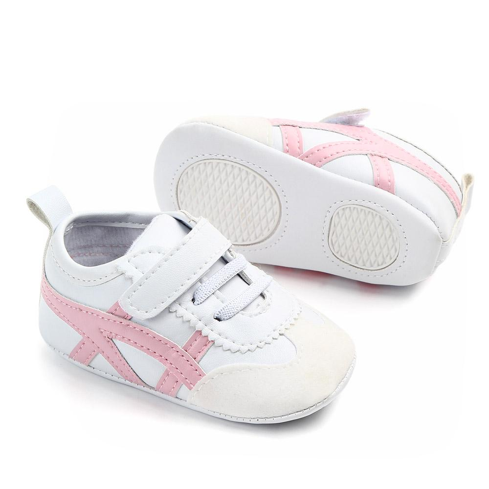 2019 Fashion Baby Shoes Soft Bottom Anti-skid PU Leather Shoe For Infant Toddler Boys Girls In Stock Fast Shipping Comfortable