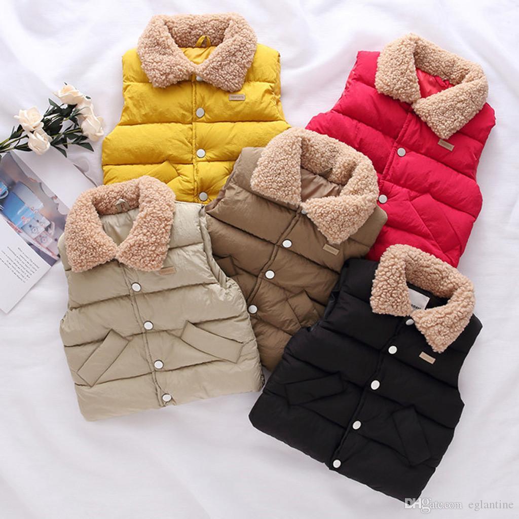 Art und Weise scherzt Mantel-Jungen-Mädchen dicken Mantel Gepolsterte Winterjacke Größen 2t Lang Kinder Oberbekleidung