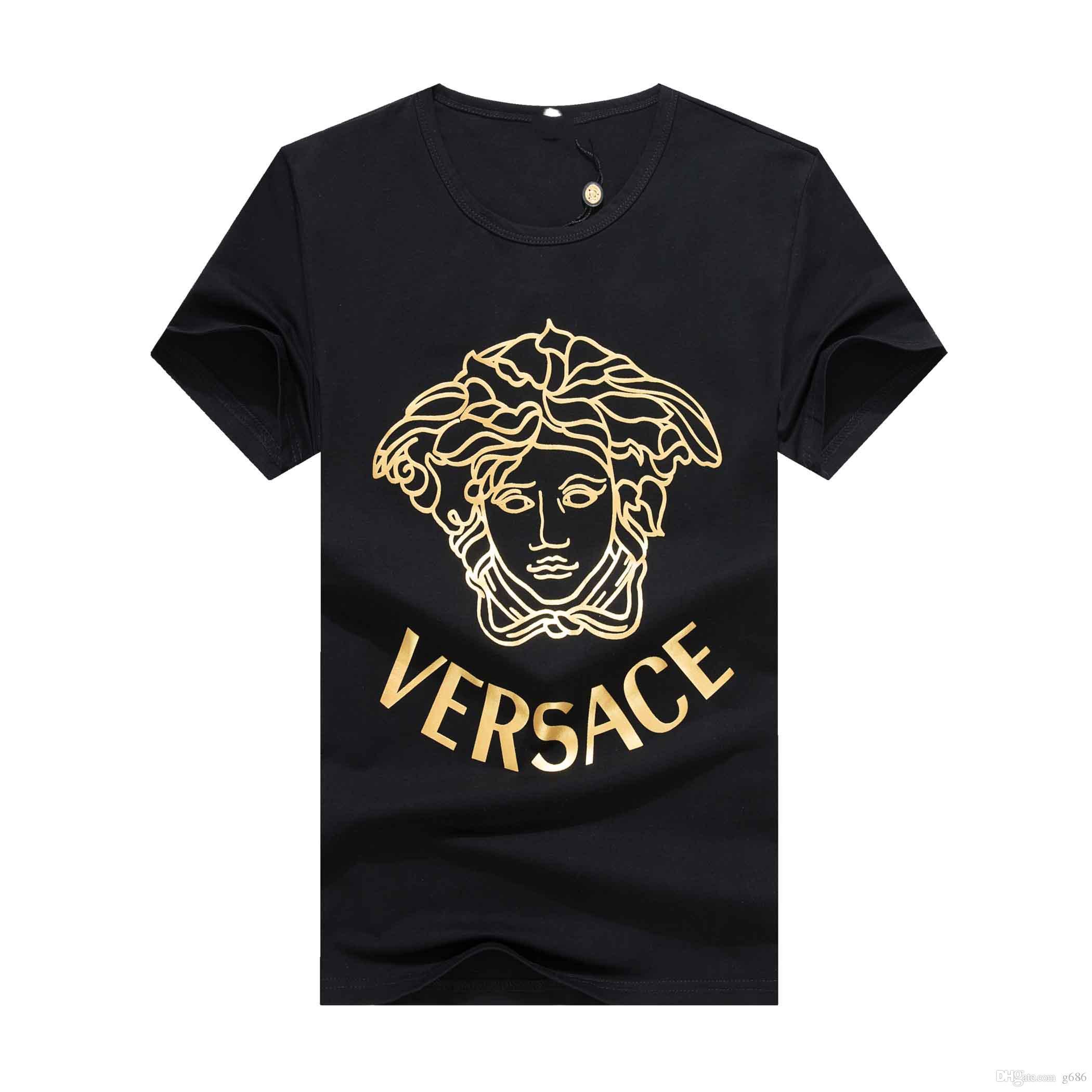 19SS LuxuxMens Designer-T-Shirt Qualitäts-Männer Frauen Paare beiläufige kurze Hülsen-Herren Rundhals-T-Shirts 4 Farben