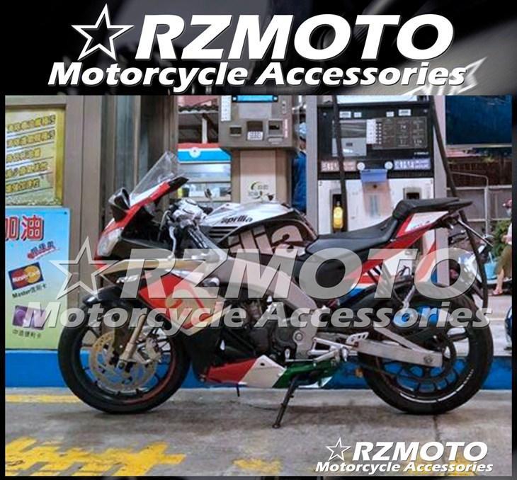 Nueva Moldeo por inyección de ABS motocicleta carenados completos kits en forma para el Aprilia RS4 50/125 2011 2012 2013 2014 2015 2016 RS125 personalizada Rojo Plata