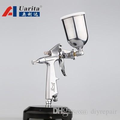 Auarita F-3 LVLP Air Spray Gun автомобиля Отделка Картина 1.0mm форсунка 125cc Cup Гравитация Automotive Automotive финишного покрытия поверхности краски
