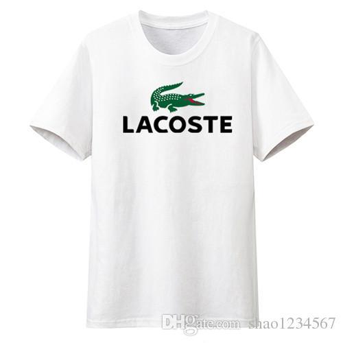 Livraison gratuite de haute qualité coton nouveau O-cou à manches courtes t-shirt marque hommes T-shirts style décontracté pour le sport hommes T-shirts