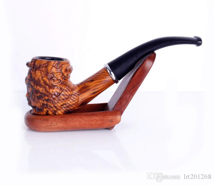 Tubulação de resina removível lavável martelo de dobra acessórios de cigarro de cinzeladura