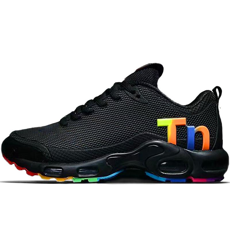 New Mercurial Tn Plus Mens KPU Running Shoes Womens Sports Chaussures Outdoors Trainers resistant wear Sneakers Size US 12 13 EUR 47 AQ0242