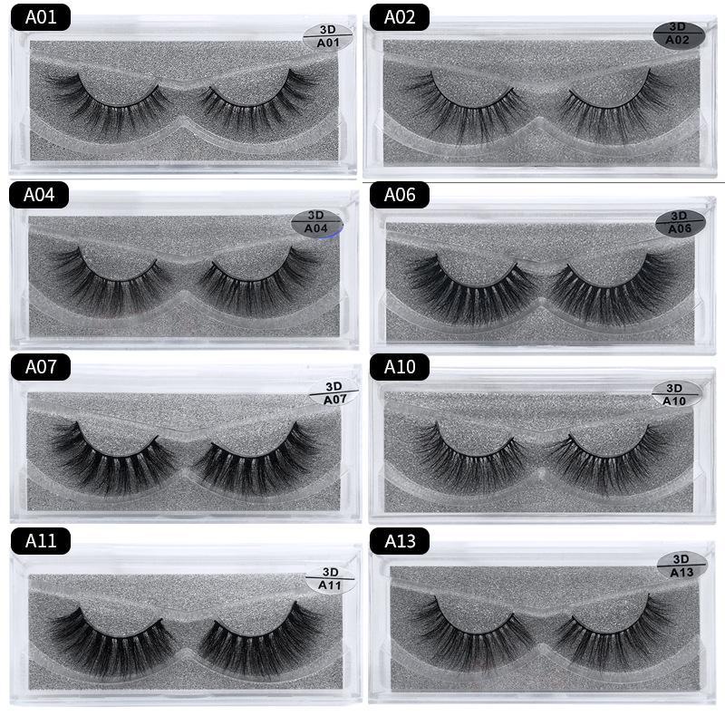 المنك 3d الشعر 30 أنماط وهمية رمش 100٪ سميكة المنك الحقيقي الشعر الرموش الطبيعية تمديد الرموش وهمية الرموش الصناعية