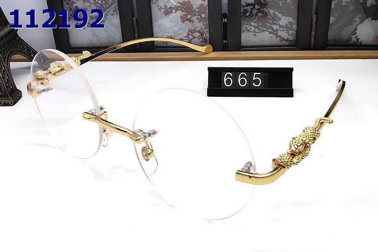 cerchio occhiali da sole rotondi leopardo gambe Occhiali da sole donne degli uomini di marca progettista corno di bufalo occhiali di design di moda Uomo Donna trasporto libero