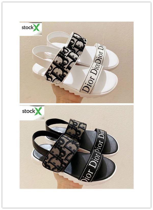 2020 новых акций мода лето солнце прохладно сандалии Детская обувь для мальчиков и девочек обувь Европейский размер 28-35