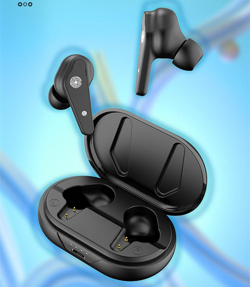 Air Plus Wireless Earphones Bluetooth 5.0 Headphone With Wireless Charging Microphone Handsfree Touch Control Earbuds TWS Earphone i7S i12