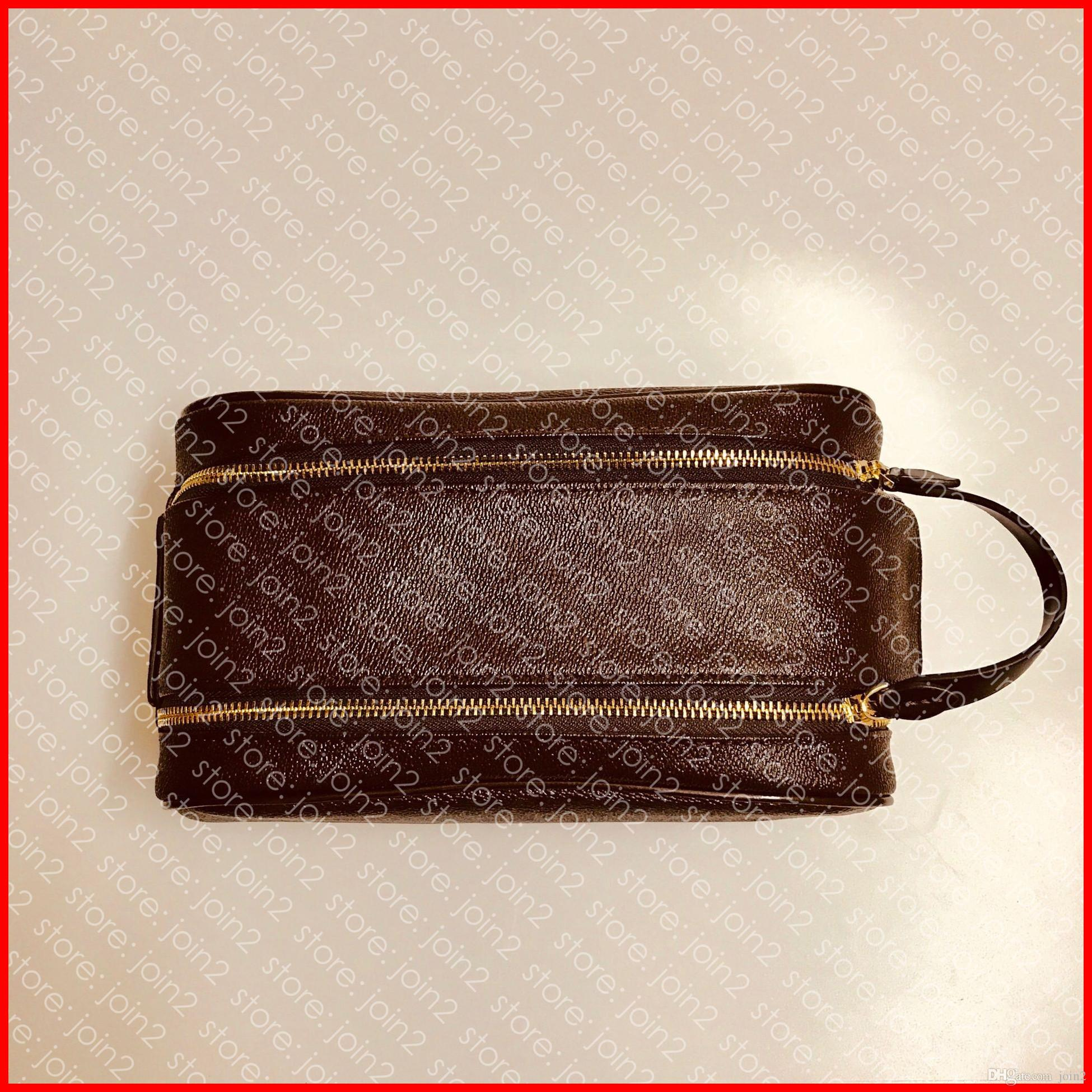 KING SIZE TOILETRY TASCHE 25 M47528 Designer Fashion Herren Damen Kosmetiktasche Kosmetiketui Pochette Accessoires Tasche Kit N47527