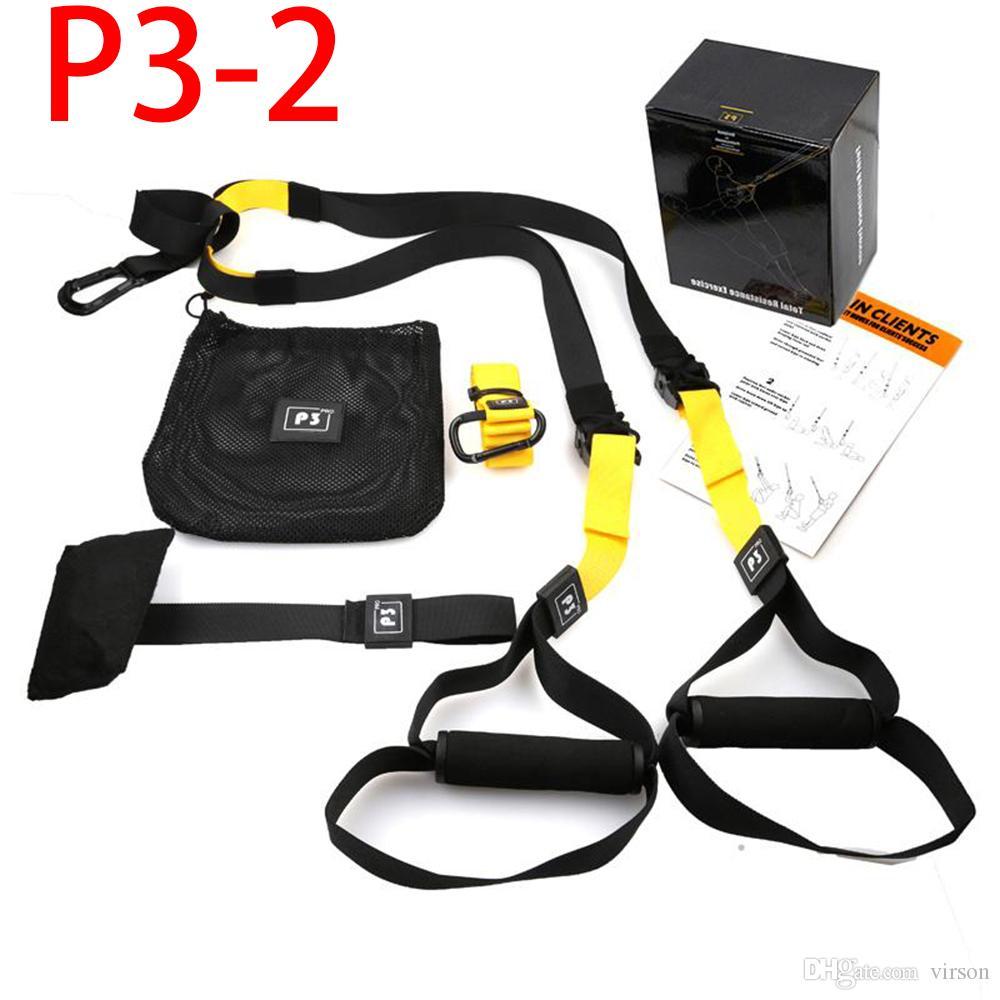 2020 Virson Resistance Bands Fitness Hanging Belt Training Gym Training Suspension Übung Zugseil Dehnen elastischen Riemen