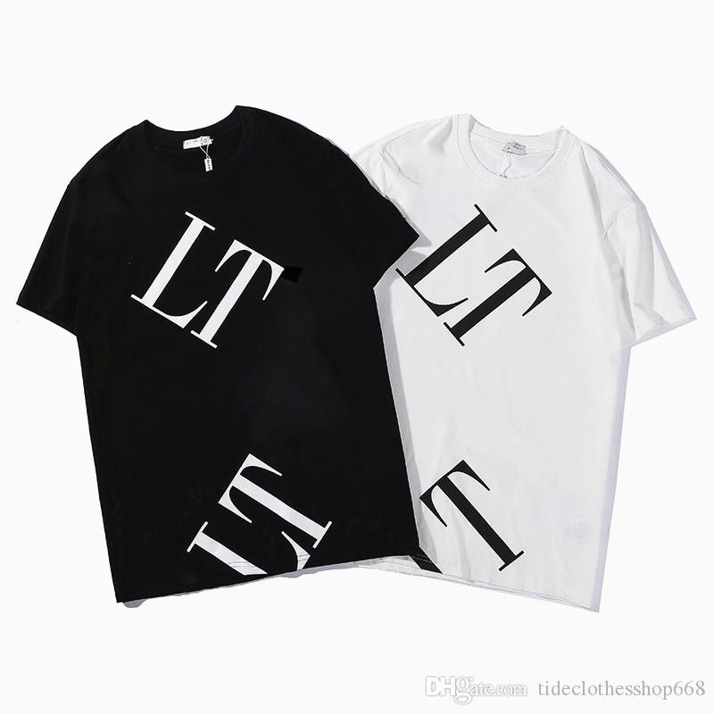 Mens Casual T-shirts Nouveautés Femmes hip hop Hommes Mode Hauts manches courtes Nouveau T-shirt de Reck rond de mode avec la marque Lettre-xxl 05