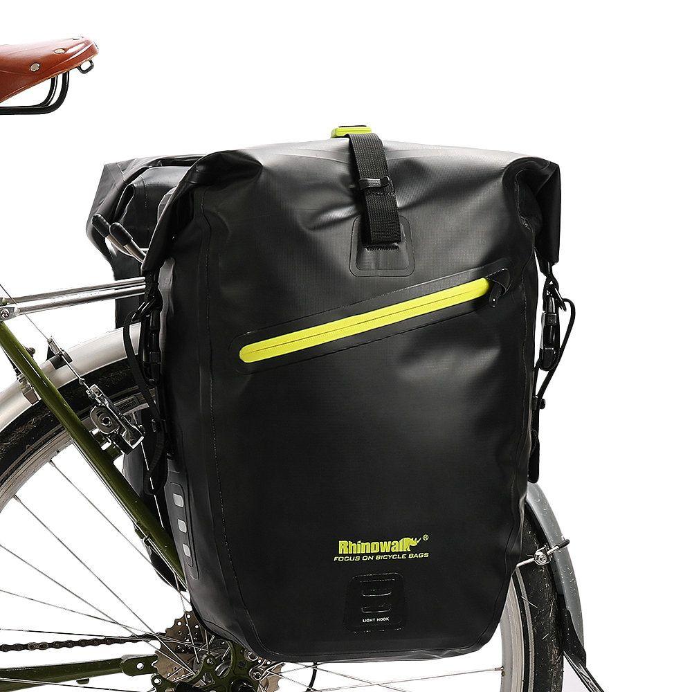 Cycling Bicycle Bike Storage Pannier Saddle Rack Rear Seat Bag Shoulder
