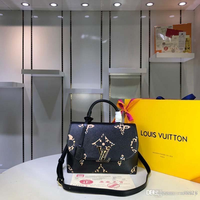 2020 новая роскошная дизайнерская сумочка из кожи и холста роскошная дизайнерская сумочка с модным принтом M53771 X123