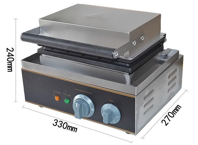 Comercial 110V / 220V del perrito caliente del polo Waffle máquina del perrito caliente de la salchicha del perrito caliente Especificaciones Wafflera Eléctrico Uso