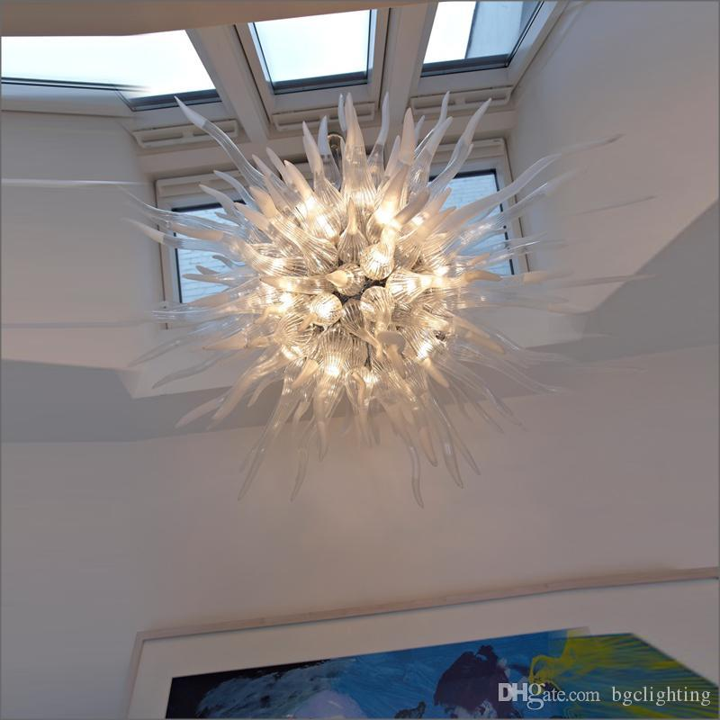 Tiffany Style 100% Pretty lighting Murano Glass Chandelier Customer Made Hand Blown Murano Glass Chandelier Lamps