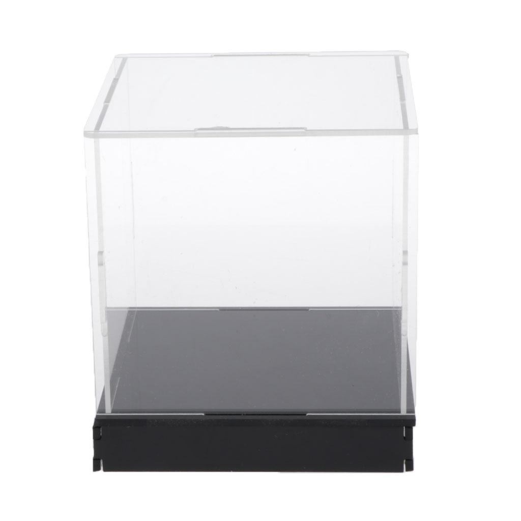 Clear Acrylic Display Case Protction Box Action Figures