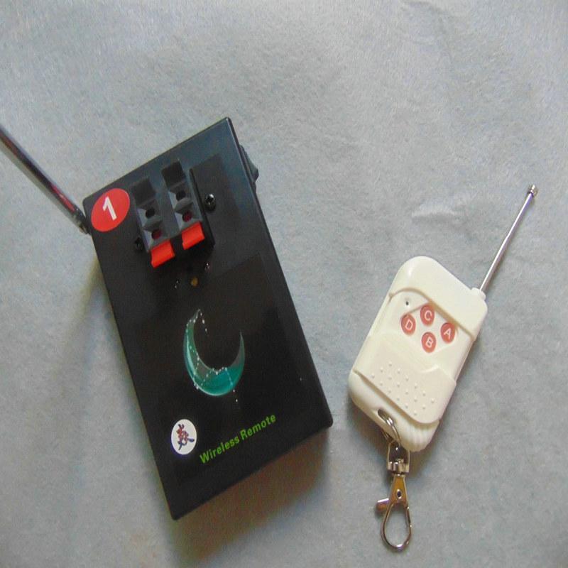 La mejor venta 1 señales de control remoto de incendios 2020 nuevo estilo 433MHz caja de interruptor resistente al agua fireworks fuego Salvo sistema de la activación