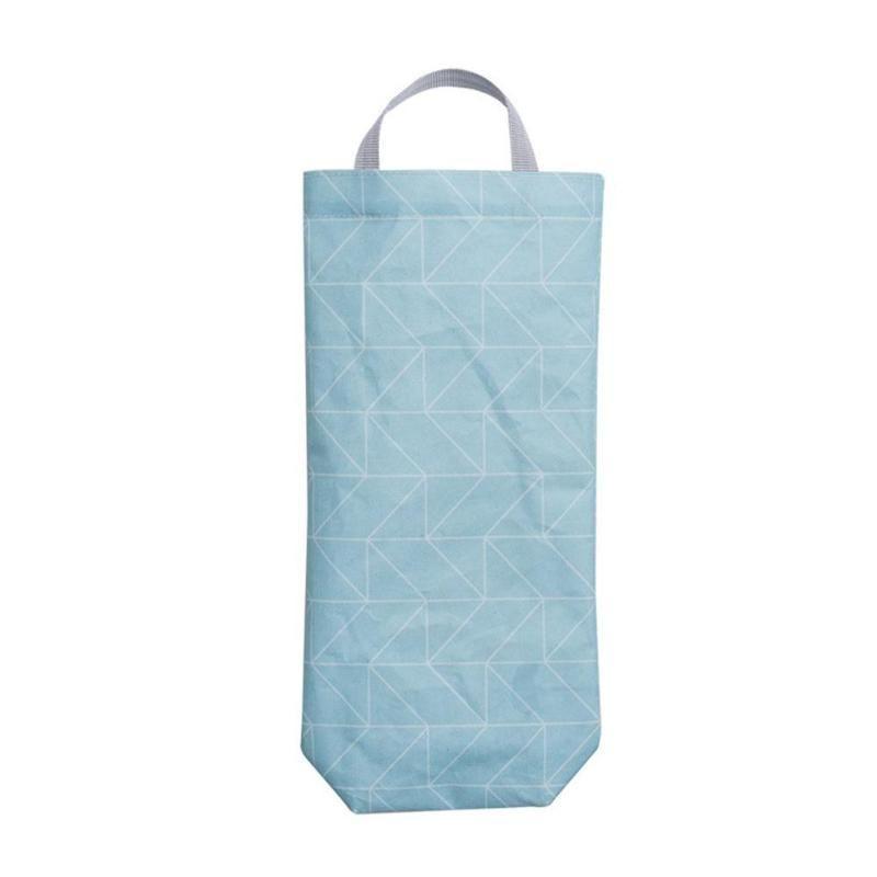 Inizio Hanging portatile Titolare del sacchetto di drogheria smontabili della parete di organizzatore Dispenser Monte de di plastica da cucina maquiagem bo P1M3