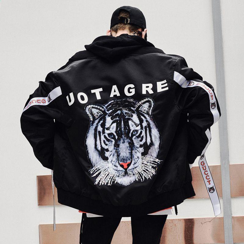 Быть.YuMiao японский karejuku куртка новая и зимняя повседневная страна мальчиков хип-хоп бейсбол воротник мужская хлопка-ватник