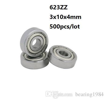 Qty.2 623-ZZ metal shields 623Z bearing 623 2Z ball bearings 623 ZZ SKATEBOARD