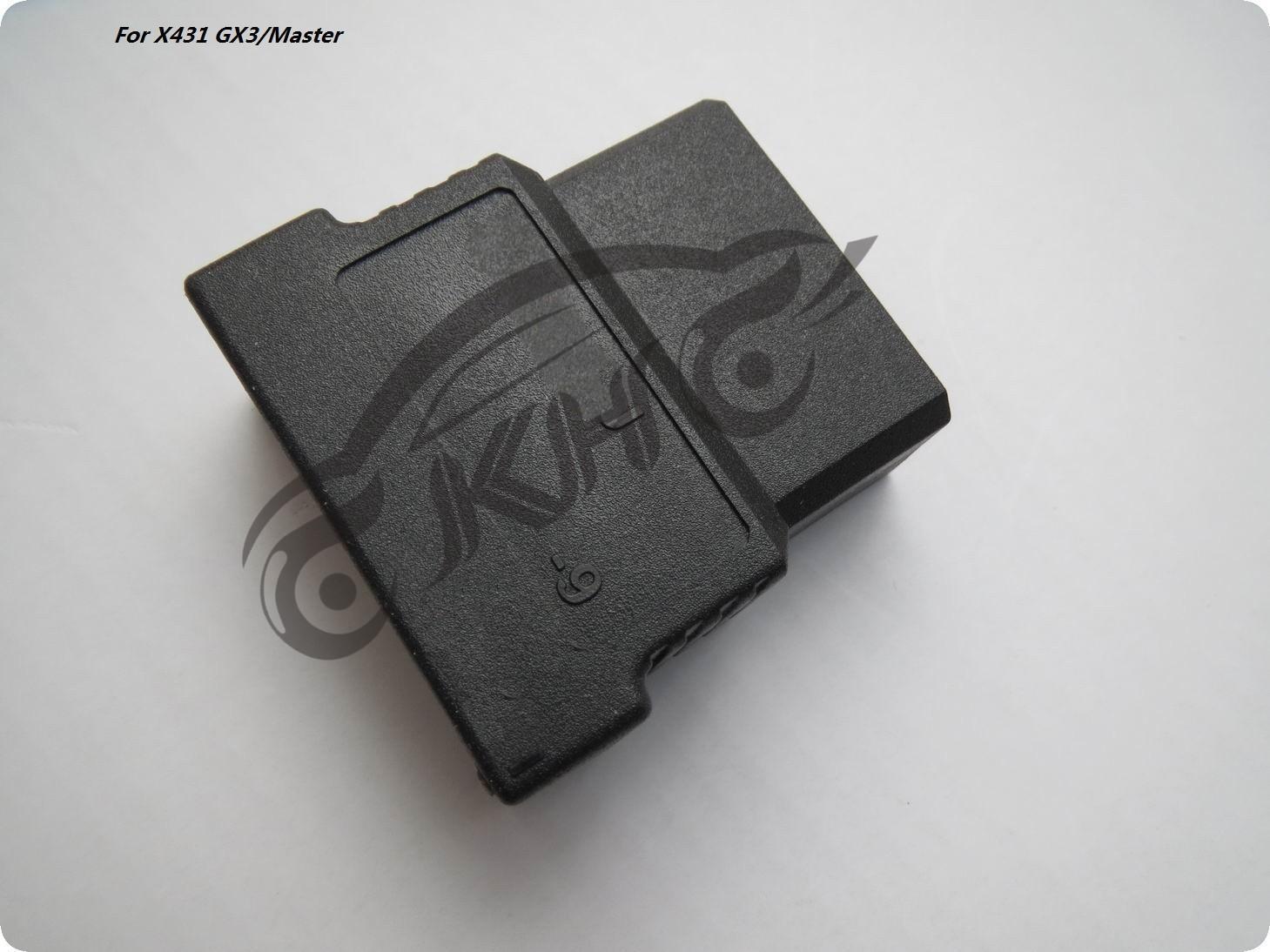 100٪ الأصلي للحصول على إطلاق X431 لSubaru9 دبوس موصل OBD الثاني على 431 GX3 ماستر OBD-II محول OBDII اتصال ل
