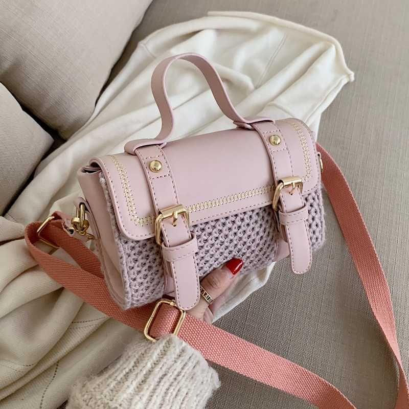Elegante Saco fêmea pequeno Tote 2020 Designer Handbag Casual Viagem Shoulder bag Mensageiro moda de qualidade PU de couro das mulheres # 50