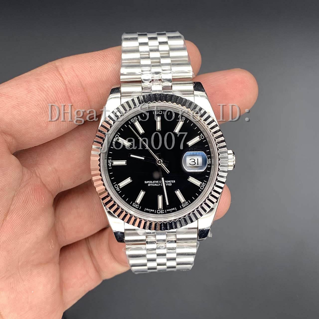 Meilleure qualité Mens BP Factory 2813 Mouvement Montre Président JUBILEE Bracelet 126333 126300 126334 126301 Montres automatiques