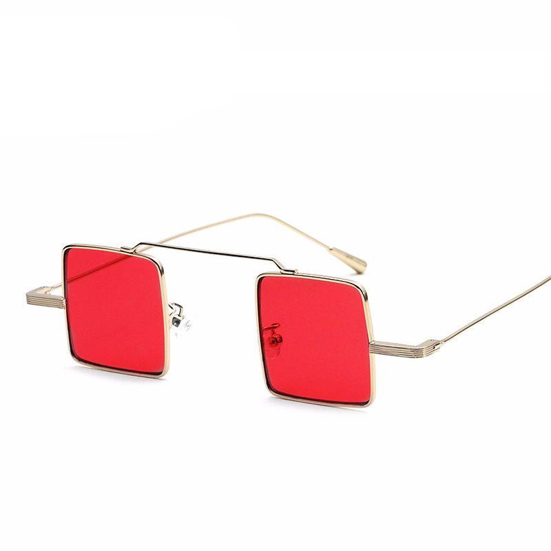 2020 nouvelles lunettes de soleil mode de la rue femme petites femmes carrés des lunettes de soleil punk, élégant lunettes oculos de sol