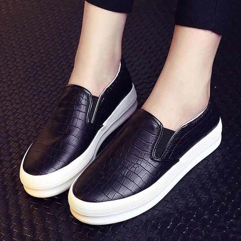 Con la caja de la zapatilla de deporte de los zapatos ocasionales Formadores Moda Calzado deportivo de cuero de alta calidad de las botas deslizadores de las sandalias de la vendimia de aire para la mujer 06PX1063