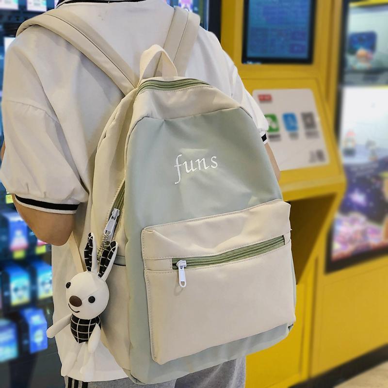 Student nette weibliche Rucksack Harajuku Frauen Schultasche Fashion Damen Kawaii Rucksack Wasserdichte Nylon-Mädchen-Buch-Tasche Trendy New
