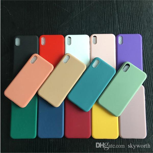 울트라 씬 저렴한 전화 케이스 TPU 아이폰 (12)의 경우 11 프로 맥스 XS MAX XR X 6S 플러스 화웨이 P30 메이트 (20)