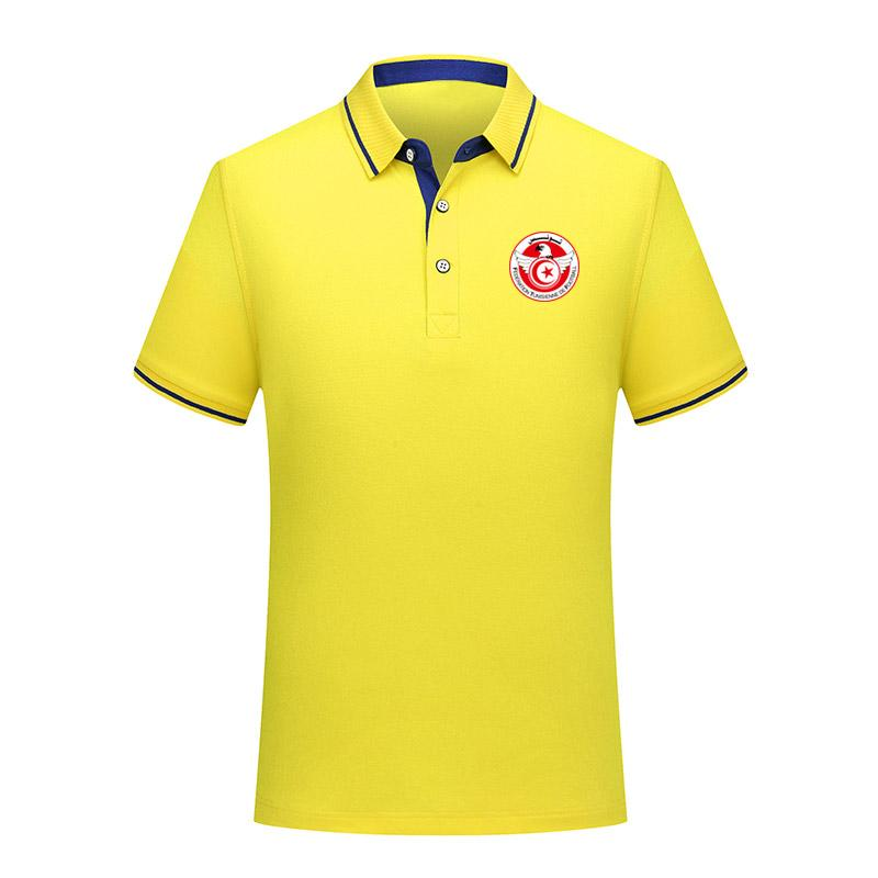 2020 Тунис Футбол Polos футбол Джерси спорта Марка POLO короткий рукав обучение польос взрослого футбола поло рубашки поло Фаны TopS