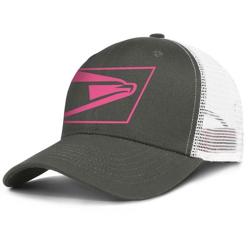 Amerika Birleşik Devletleri posta servisi kanser USPS pembe erkek ve kadın ayarlanabilir kamyon şoförü meshcap tasarım moda beyzbol takımı en iyi baseballhats