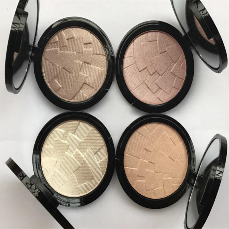 Highlighter Pressed Powder Makeup Brand Fix Face Powder Cake Easy to Wear 4 colors Face Foundation Blot Pressed Cosmetic 1pc