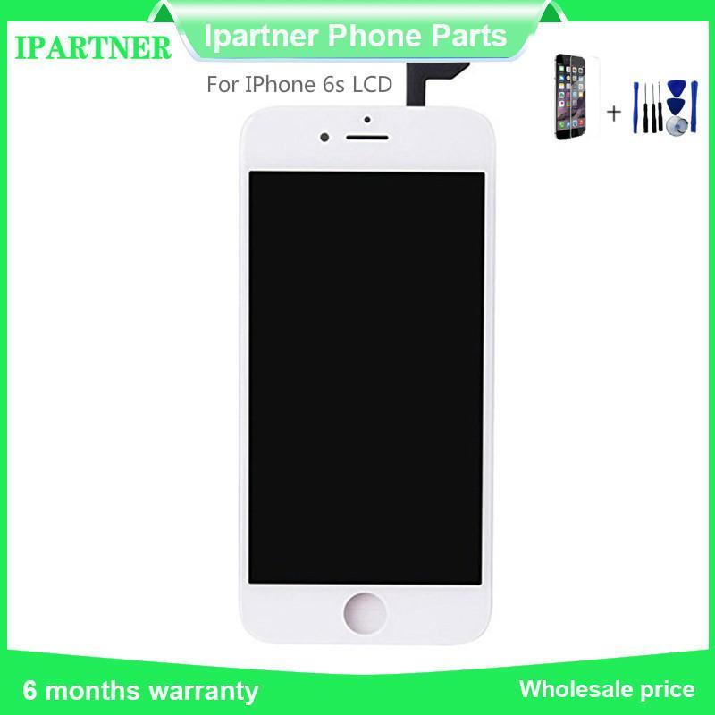 Per Shenchao LCD per IPhone 6s Display LCD touch screen digitale di vetro dell'Assemblea qualità 5,5 pollici Nero Bianco