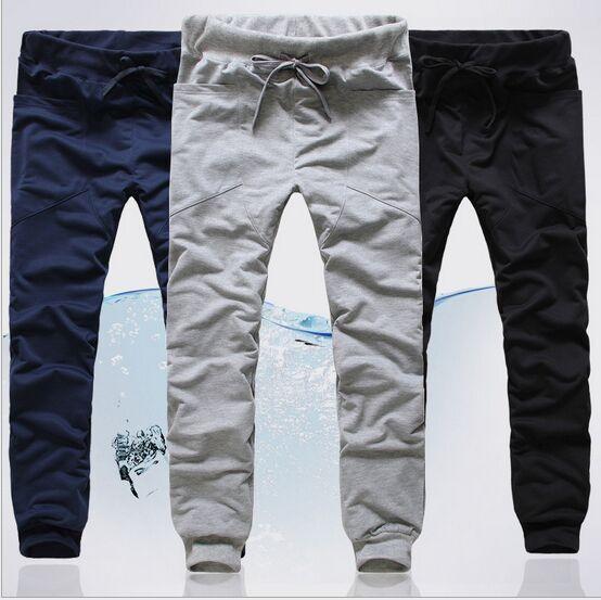 erkekler için koşucuların Koşu Dans spor pantolon Gündelik Harem Pantolon Pantolon Hip Hop Slim Fit Sweatpants Men Loose