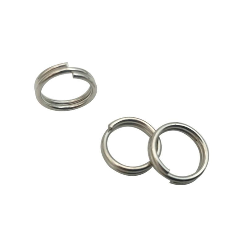 SPLIT RINGS STAINLESS STEEL FOR LURES /& TACKLE 100 pcs SIZE 5-40 LB