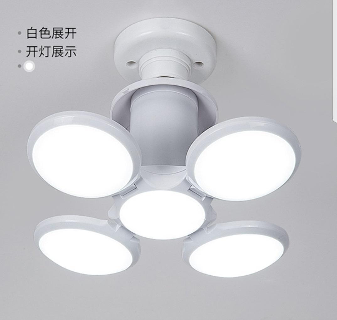 Calcio UFO della lampada di CA 85-265V LED Super Bright LED pieghevole E27 40W LED lampadina della sfera della bolla Lampadina pieghevole Sostituire hpz0326 Luce alogena.