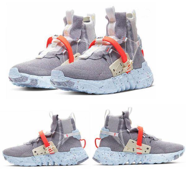 2020 Novo designer de pré-venda 03 Espaço Hippie Tênis de corrida Os azuis-cinzento-vermelho homens CQ3989-001 as sapatilhas das mulheres sapatos tamanho de alta qualidade 36-46