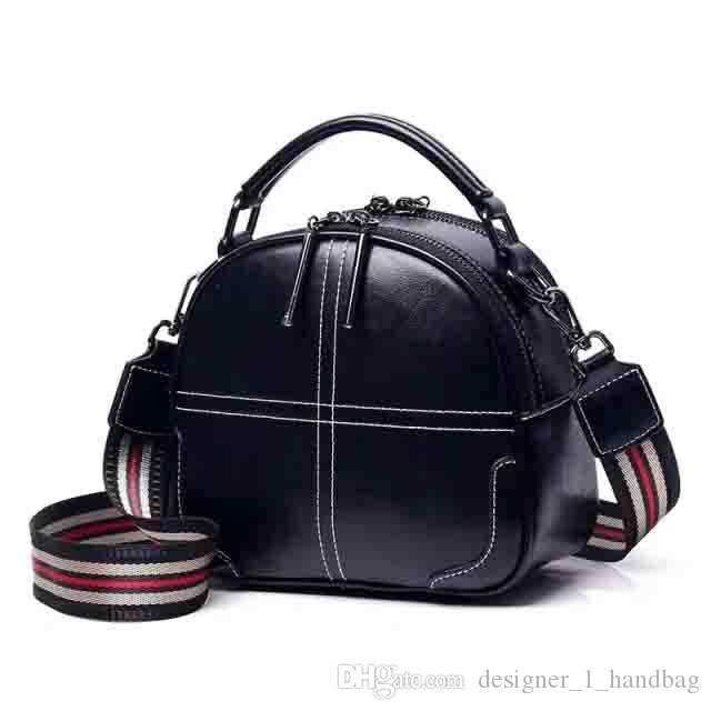 السيدات المألوف المحمولة متعددة الأغراض حقيبة الكتف جلدية حقيبة كاميرا قطري محفظة متعدد الألوان السيدات