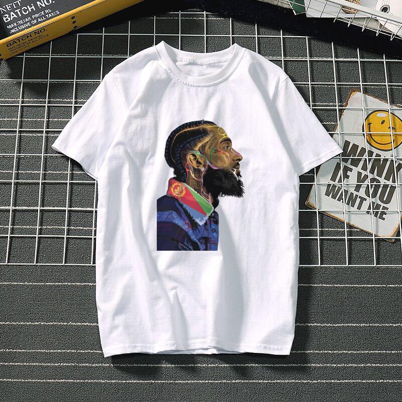 homens de Moda de Nova s designer de camisetas camisa do lobo Homens T t-shirt Casual manga curta Hipster Fractal Padrão T frescos Tops Frete grátis